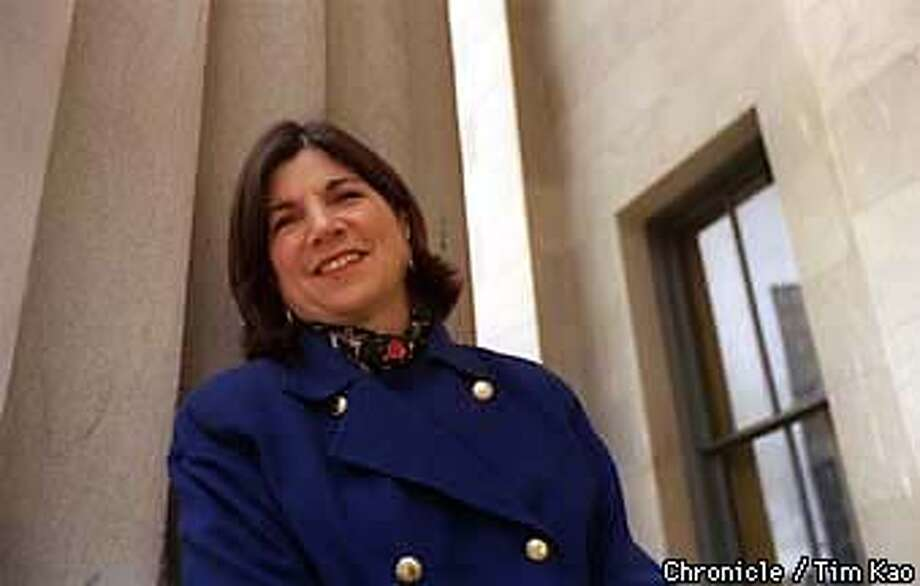 =ANNA Quindlen, in town to promote her latest book. PHOTO BY TIM KAO/THE CHRONICLE Photo: TIM KAO