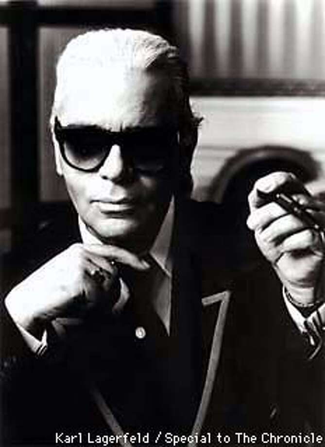 Karl Lagerfeld, one of the most influential designers of the 20th century.