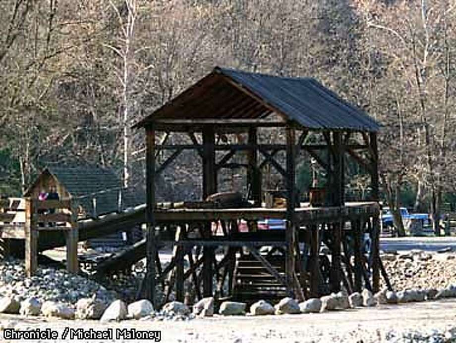 A full size replica of Sutter's Mill was built near the original site at Marshall Gold Discovery State Historic Park in Coloma. John Sutter and James Marshall formed a partnership and built a sawmill on the south fork of the American River. Marshall later discovered gold from the tailrace of that mill.  Photo by Michael Maloney Photo: MICHAEL MALONEY