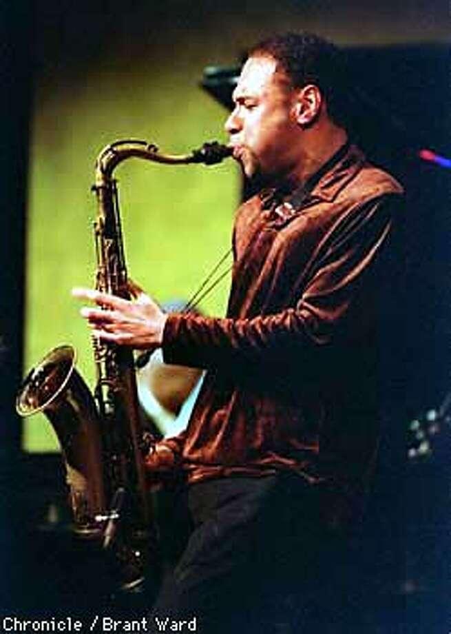 Joshua Redman, saxophonist, at Yoshi's. Photo by Brant Ward Photo: Brant Ward