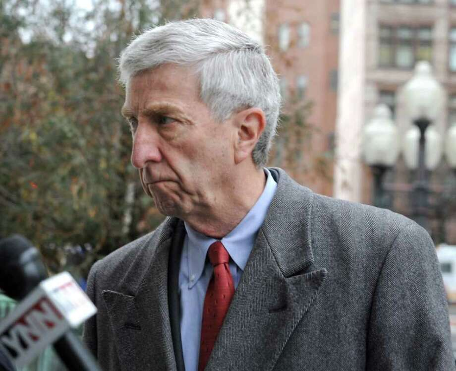 David Smith arrives for his arraignment at the U.S. District Courthouse  Friday Jan. 27, 2012 in Albany, N.Y.  (Lori Van Buren / Times Union) Photo: Lori Van Buren / 00016245A