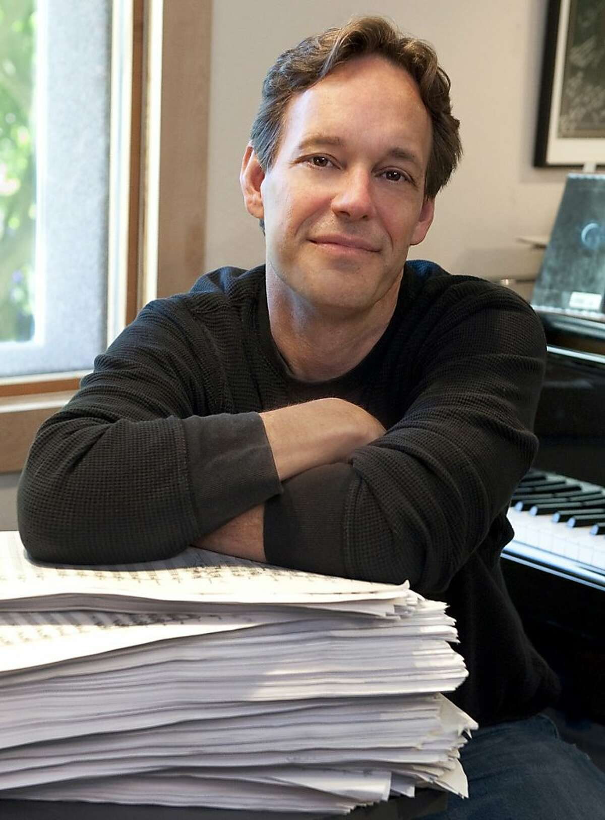 Composer Jake Heggie