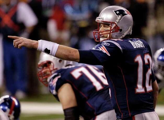New England Patriots quarterback Tom Brady. Photo: AP