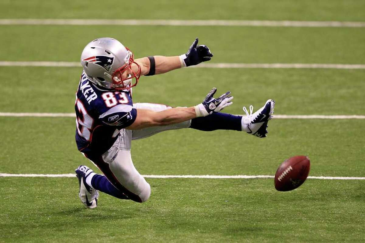 8. Wes Welker (Super Bowl XLVI)The receiver known for his usually sure hands had a critical drop with four minutes left in the fourth quarter that arguably kept the Patriots from sealing the game. The Giants later took posession en route to the winning touchdown.