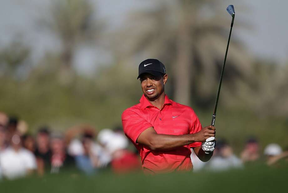 ABU DHABI, UNITED ARAB EMIRATES - JANUARY 29:  Tiger Woods of the USA during the final round of Abu Dhabi HSBC Golf Championship at the Abu Dhabi HSBC Golf Championship on January 29, 2012 in Abu Dhabi, United Arab Emirates.  (Photo by Ross Kinnaird/Getty Images) Photo: Ross Kinnaird, Getty Images