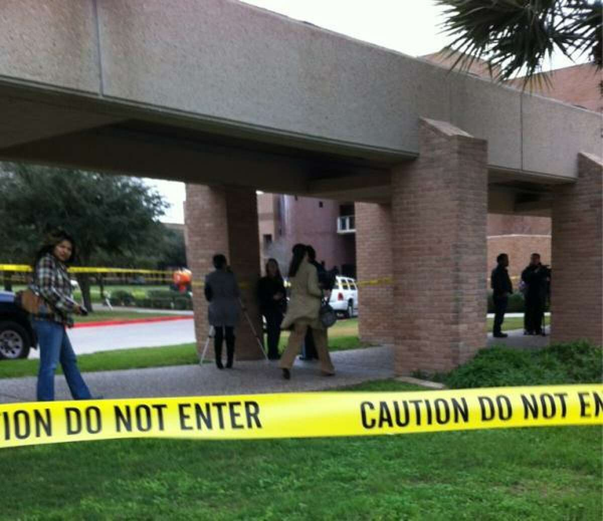 """University of Texas-Pan American and city of Edinburg police are investigating the """"suspicious"""" death of a female student whose body was found near the campus's Science building, university officials said Monday."""