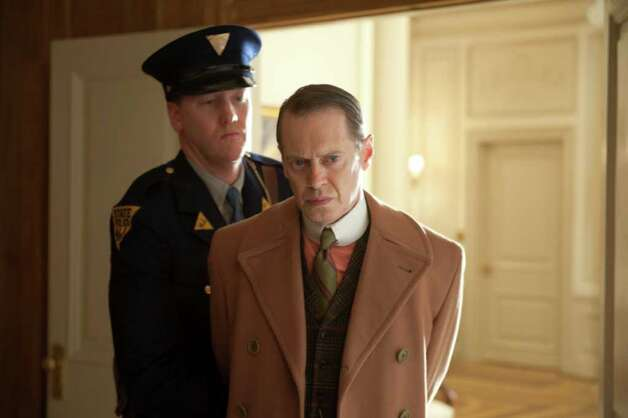 "Matty Blake (left) and Steve Buscemi star in HBO's ""Boardwalk Empire."" Photo: HBO"
