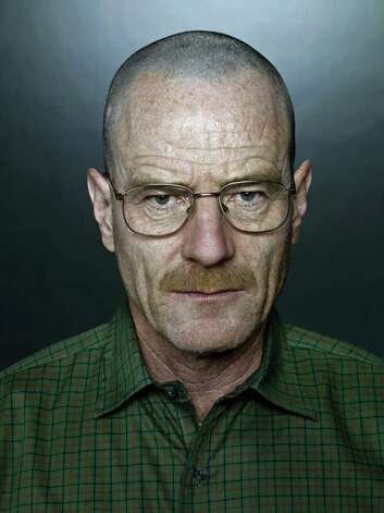 "Bryan Cranston in his Emmy-winning role as the drug-dealing ex-teacher in AMC's "" Breaking Bad."" Photo: AMC / MCT"