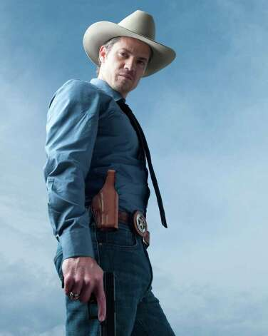 "Timothy Olyphant as Raylan Givens on ""Justified."" Photo: FX / handout"