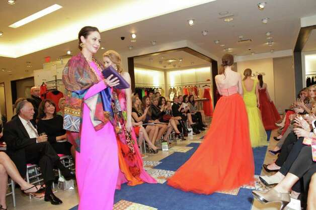 Models take their finale walk during a benefit show for the Texas Biomedical Forum held at Neiman Marcus at the Shops at La Cantera. Photo: ;, Photo Courtesy Jeffrey Truitt / Jeffrey Truitt Photography for Neiman Marcus