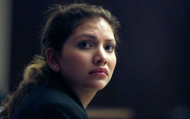 Jenny Ybarra is on trial for the intoxication manslaughter of Erica Nicole Smith in the 437th District Court at the Cadena Reeves Justice Center.   Monday, Feb. 6, 2012.  Bob Owen/San Antonio Express-News Photo: Bob Owen, San Antonio Express-News / © 2012 San Antonio Express-News