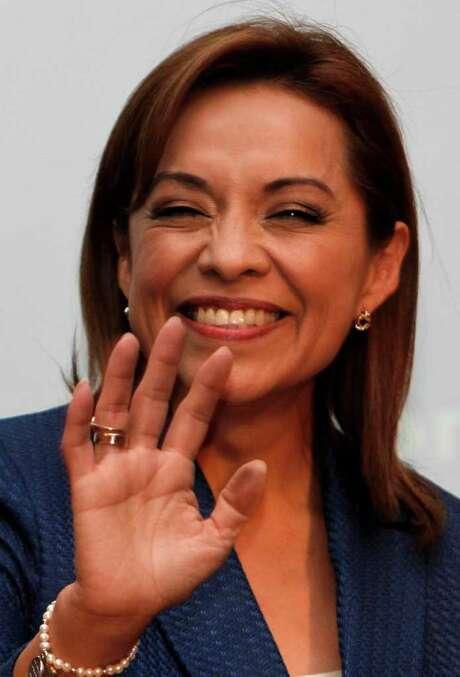 Josefina Vasquez Mota, of Mexico's National Action Party, was nominated to run for president. Photo: Marco Ugarte / AP