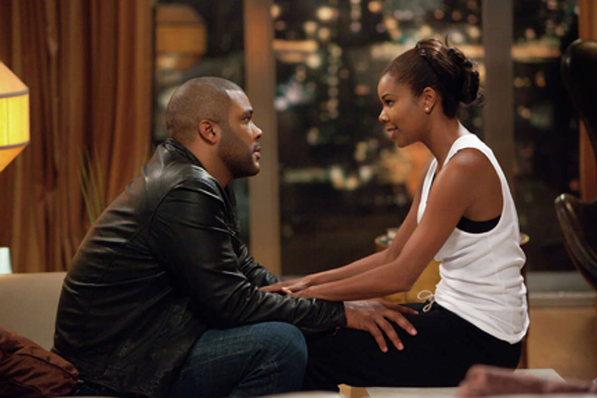 Tyler Perry as Wesley Deeds and Gabrielle Union as Natalie in