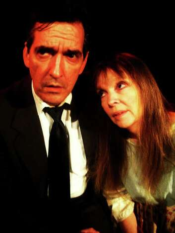 Barry Goettl and Deborah Basham-Burns play Willy and Linda Loman in the Rose Theatre Company's 'Death of a Salesman.' Courtesy Rose Theatre Company