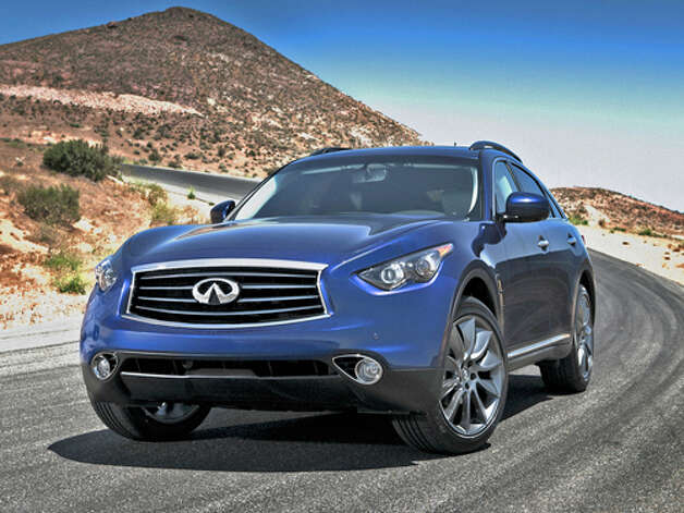 2012 Infiniti FX50 AWD (photo courtesy Infiniti) Photo: Mike Ditz / ©2011