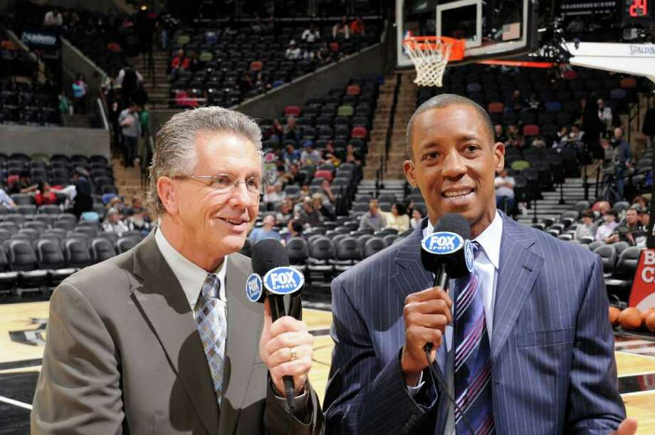 Spurs player-turned-TV analyst Sean Elliott. Photo: San Antonio Spurs