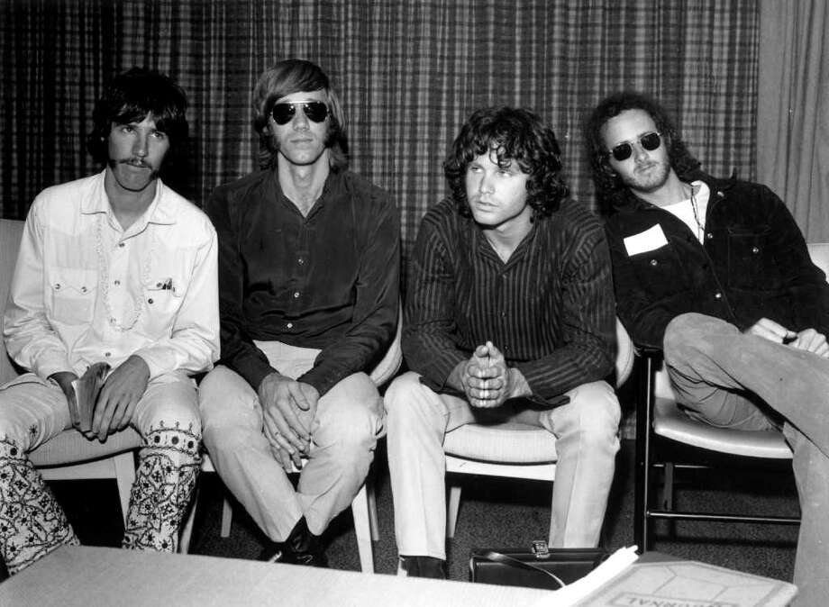 "The Doors deliver alternate takes of familiar tracks and new sounds on the album ""L.A. Woman."" Photo: Getty Images / Hulton Archive"
