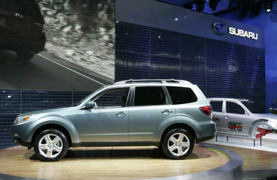 Best in Class: Subaru Forester 2.5XT Touring AWD ($30,670) Photo: GEOFF ROBINS, AFP/Getty Images / 2008 AFP