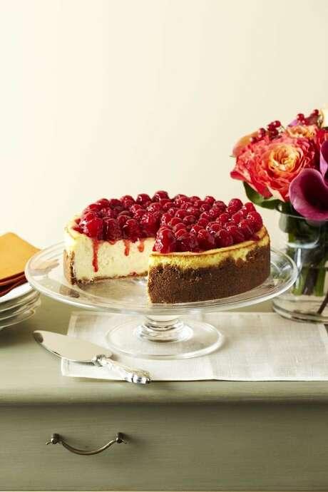 Delish0208: Good Housekeeping recipe for Raspberry Cheesecake. Photo: Good Housekeeping