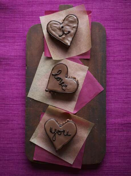 Delish0208: Good Housekeeping recipe for Hazelnut Hearts. Photo: Con Poulos