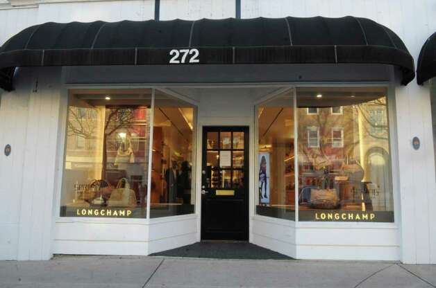 Longchamp Greenwich, a new upscale clothing store at 272 Greenwich Ave