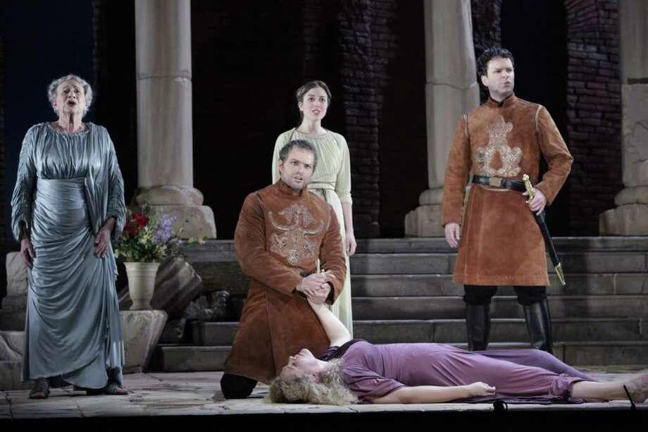 Houston Grand Opera's The Rape of Lucretia stays true to the work's complexities. Photo: Felix Sanchez / Felix Sanchez © 2011