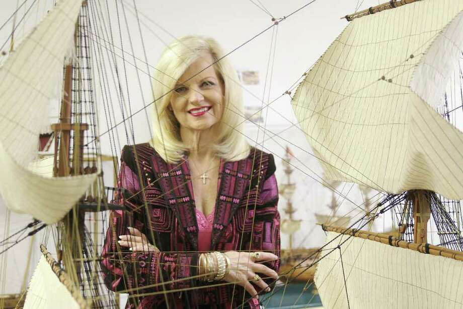 Diane Lipton, new director of the Houston Maritime Museum, poses for a photo. Photo by Pin Lim. Photo: Pin Lim / Copyright Pin Lim.