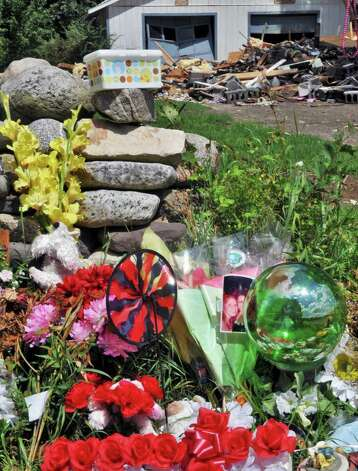 Memorial at  the site of a July 2011 house explosion on Route 29 in Salem. Six people died as a result of the explosion. (John Carl D'Annibale / Times Union archive) Photo: John Carl D'Annibale / 00014053A