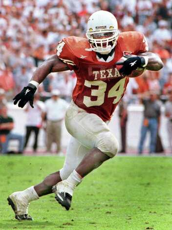 RICKY WILLIAMS, #34, Texas Longhorns running back. PHOTO: Special to the Express-News (from UT photos) Photo: AP/Express-News