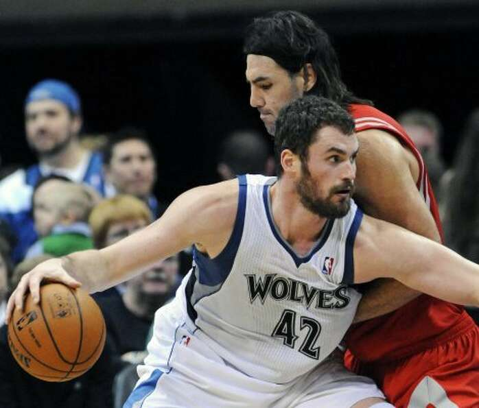 Feb. 4: Timberwolves 100, Rockets 91 Timberwolves forward Kevin Love d