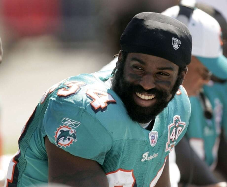 In 2005, Ricky Williams' first season back after a hiatus from the NFL in 2004, he managed 743 yards and six touchdowns in 12 games. (SCOTT AUDETTE / AP)