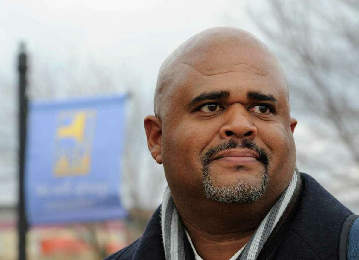 The settlement of a federal civil rights lawsuit brought by Wayne Spence, a Long Island parole officer, calls for the state to pay Spence $50,000 plus his attorney's fees, which could top $300,000. (Skip Dickstein / Times Union)