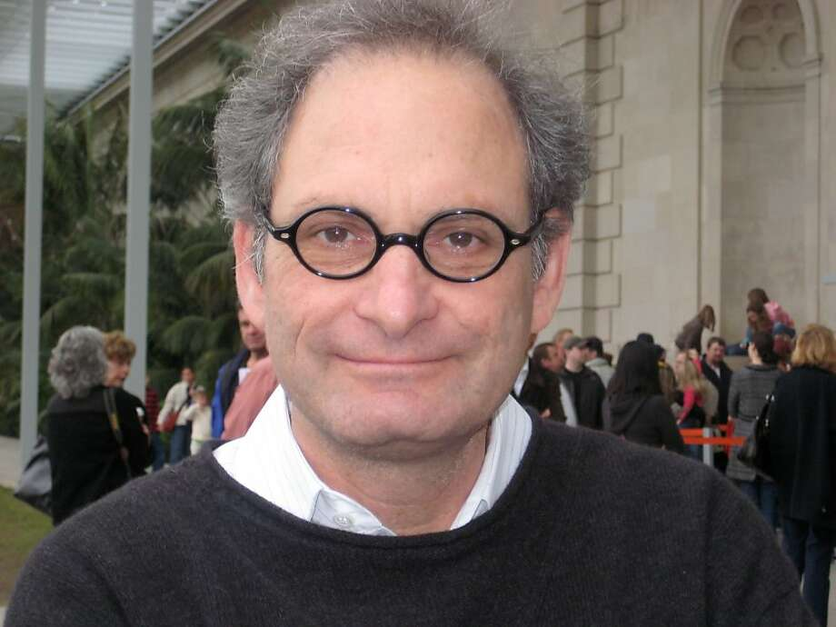 Steven Leiber (1957-2012)  San Francisco collector of and dealer in ephemera by late 20th century and contemporary artists. Photo: Janina Quint