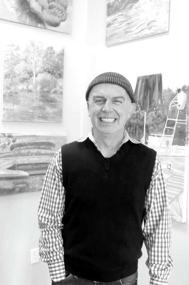 Marcos Torno, owner of Images on Sound Beach Avenue in Old Greenwich, will receive the Art Society of Old Greenwich's Volunteer of the Year award this evening at their 52nd Annual Winter Art Festival Buffet Dinner at the Riverside Yacht Club. Photo: Anne W. Semmes