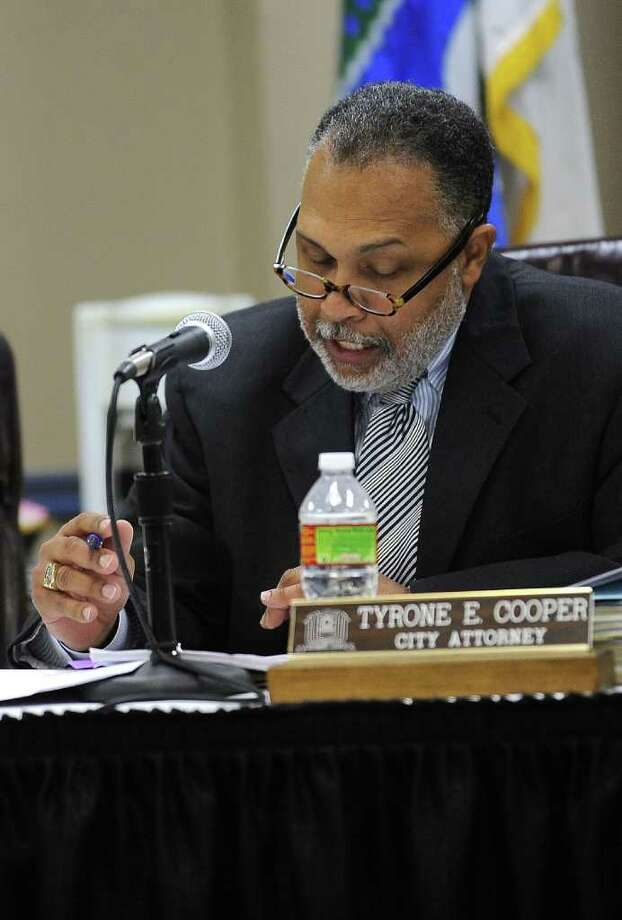 Beaumont City Attorney Tyrone Cooper. Guiseppe Barranco/The Enterprise / Beaumont