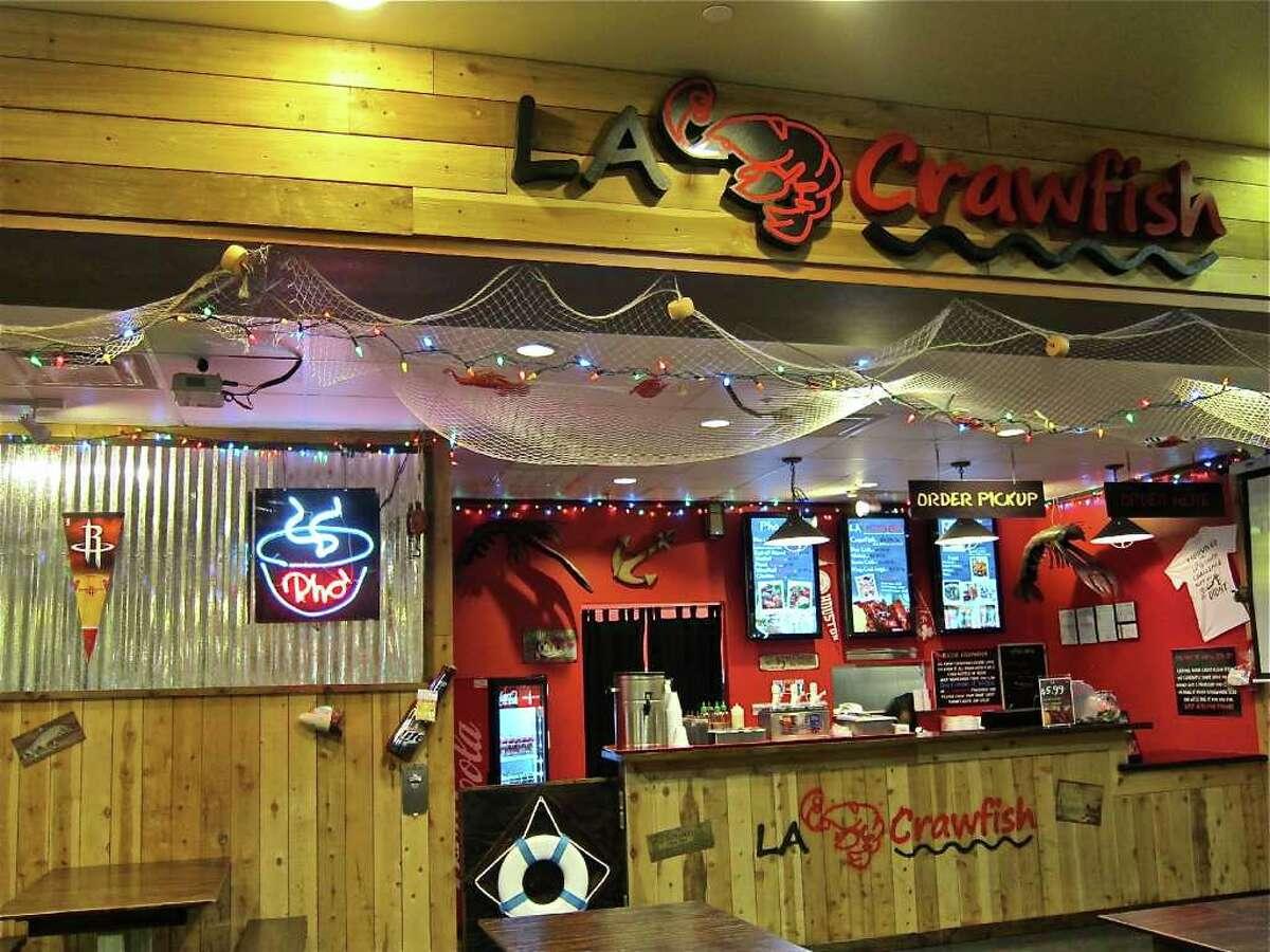 LA CrawfishPrice: $$Address: 1005 Blalock RdPhone: (713) 461-8808Website: thelacrawfish.com