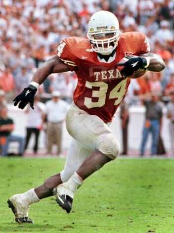 Ricky Williams won the Heisman Trophy as a running back at Texas. (Courtesy University of Texas)