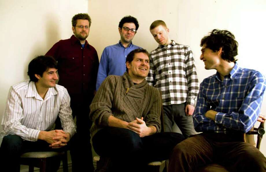 Sleeping Giant is a collective of young composers, including Jacob Cooper, Christopher Cerrone, Robert Honstein, Andrew Norman, Ted Hearn and Timothy Andres.