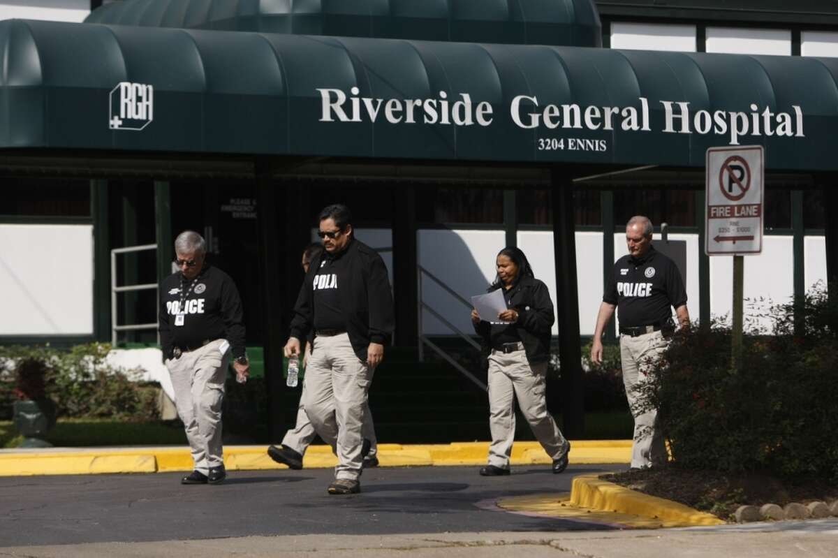 An administrator at Riverside General Hospital is charged in a scam involving kickbacks to patient recruiters.