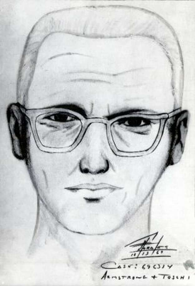 A 1969 police sketch of the 'Zodiac Killer,' who killed people around the Bay Area and was never caught. Click through the gallery for a roundup of notorious American serial killers.