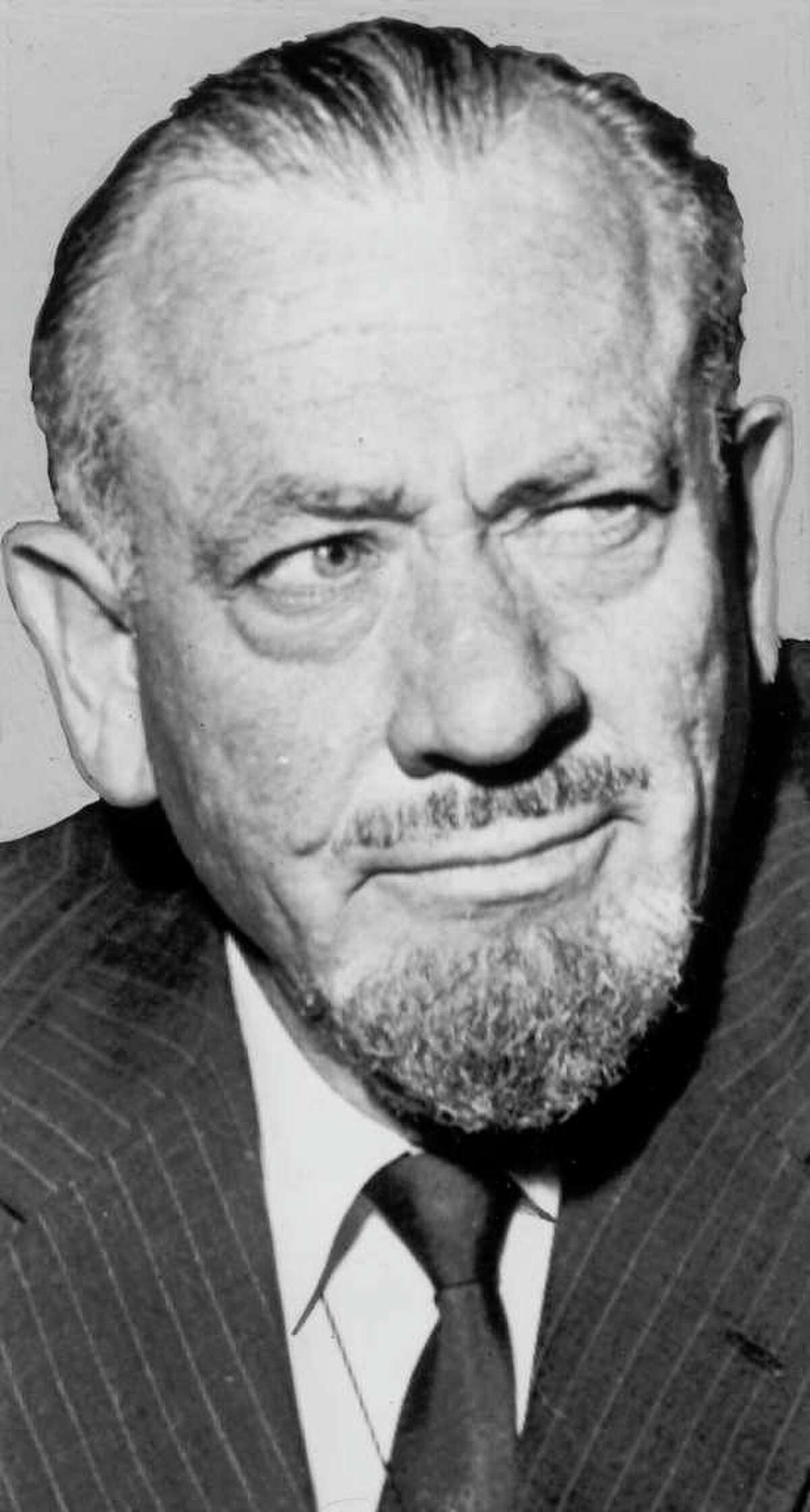 """John Steinbeck, author of """"Of Mice And Men"""""""