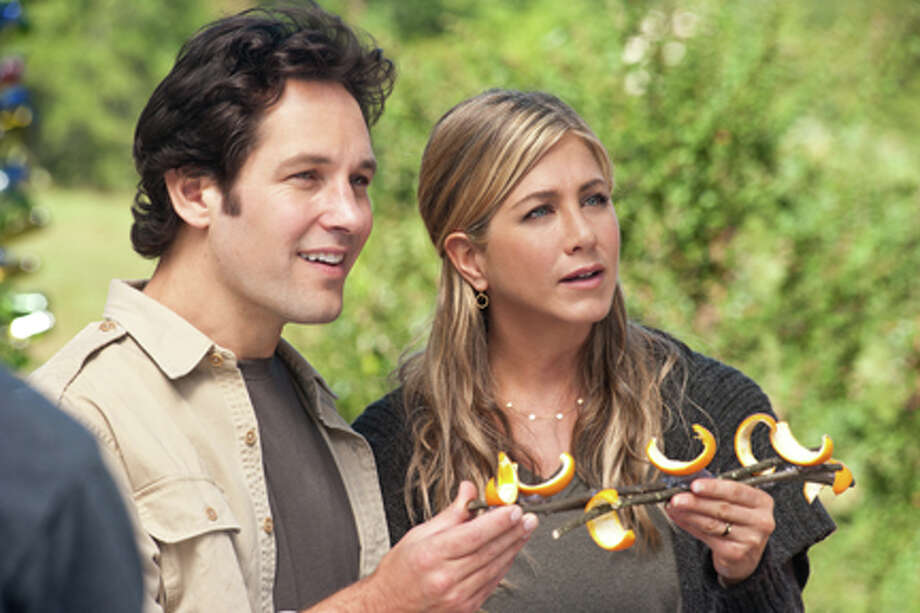 "Paul Rudd as George and Jennifer Aniston as Linda in ""Wanderlust."" Photo: Gemma LA Mana / 2011 Universal Pictures"