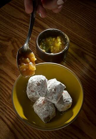 The Brioche Donuts at the Plum Bar in Oakland, Calif., are seen on Thursday, January 19th, 2012. Photo: John Storey