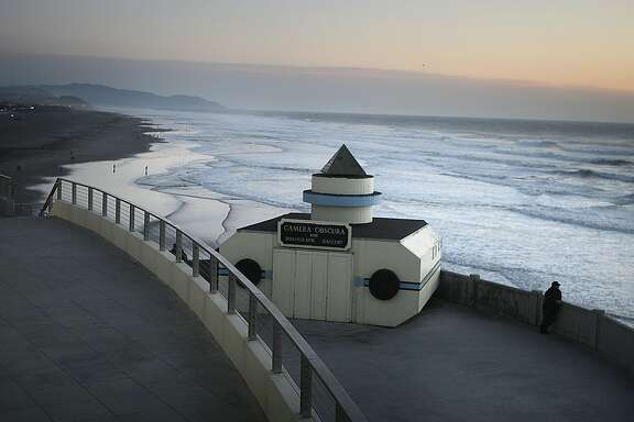 The camera obscura on a deck of the Cliff house in San Francisco, Calif.,  on Thursday, November 10, 2011.  It is currently owned by the National Park Service as part of the Golden Gate National Recreation Area and has remained unchanged since 1946.