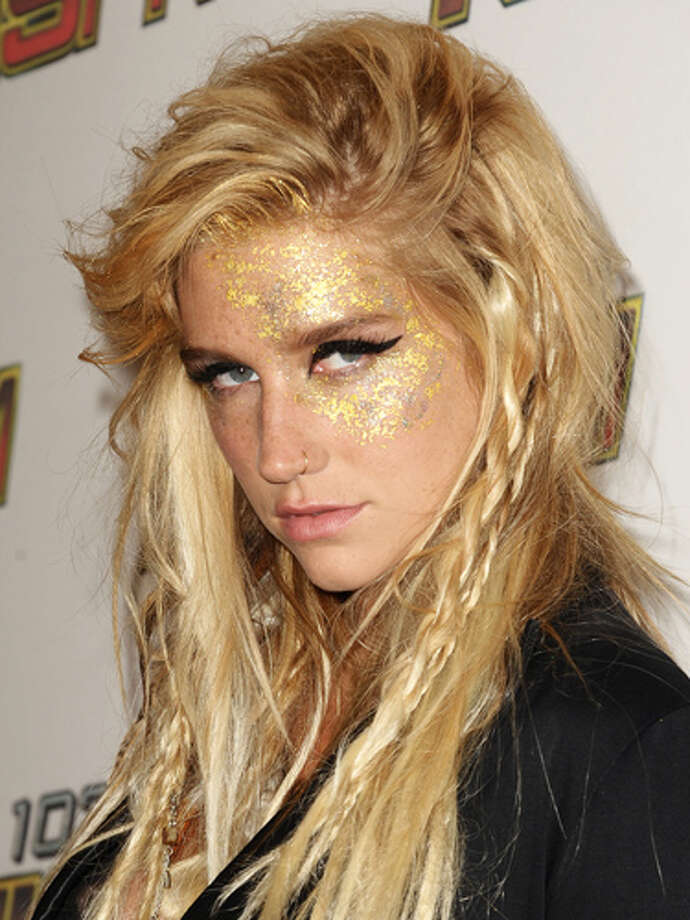 "In an interview, singer Kesha casually mentioned that she spends a ""few thousand a month"" for her budget on glitter. - celebritytoob Photo: Jason LaVeris/FilmMagic"