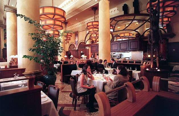 Grand Cafe offers a lively brasserie atmosphere. Photo: Jerry Telfer