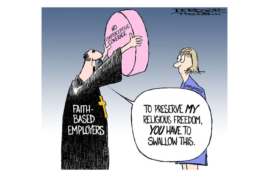 Faith based institutions claim right to deprive employees of contraceptive coverage on basis of religious conviction. Photo: John De Rosier