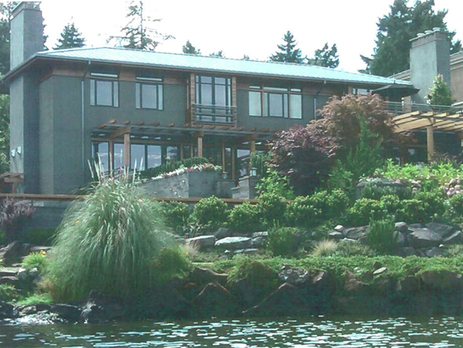 Darren Berg's Mercer Island mansion, pictured in a U.S. Justice Department photo. Berg spent at least $10 million of investors' money on the house.