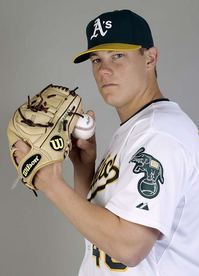 This is a 2011 photo of Andrew Bailey of the Oakland Athletics baseball team.  This image reflects the Oakland Athletics active roster as of  Thursday, Feb. 24, 2011  when this image was taken. Photo: Marcio Jose Sanchez, AP