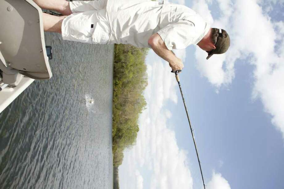 Rising water levels in Texas lakes could be a boon to largemouth bass and bass anglers as the fish see improved habitat conditions and anglers enjoy better access as more boat ramps become operational. / DirectToArchive
